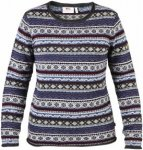 Fjällräven Övik Folk Knit Sweater W-Uncle Blue-M - Gr. M