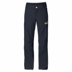 Jack Wolfskin Activate Ii Softshell Pants G - night blue, Größe 176