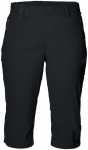 Jack Wolfskin ACTIVATE LIGHT 3/4 PANTS - black - 46