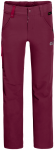 Jack Wolfskin ACTIVATE PANTS KIDS - dark ruby - 164