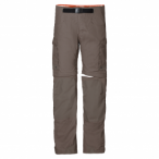 Jack Wolfskin All Terrain Zip Off Pants M - siltstone, Größe 52