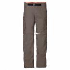 Jack Wolfskin All Terrain Zip Off Pants M - siltstone, Größe 52