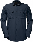 Jack Wolfskin ATACAMA ROLL-UP SHIRT - night blue - M