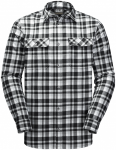 Jack Wolfskin BOW VALLEY SHIRTBOW VALLEY SHIRT - black checks - M