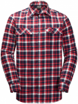 Jack Wolfskin BOW VALLEY SHIRTBOW VALLEY SHIRT - red blue checks - M