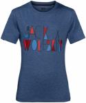 Jack Wolfskin BRAND T BOYS - ocean wave - 116