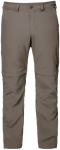 Jack Wolfskin CANYON ZIP OFF PANTS - siltstone - 56