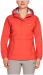 Jack Wolfskin Cloudburst Smock Women - lobster red, Größe L