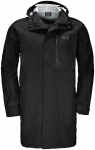 Jack Wolfskin CROSSTOWN RAINCOAT MEN - black - L