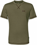 Jack Wolfskin CROSSTRAIL T MEN - burnt olive - XL