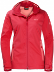 Jack Wolfskin CUSCO VALLEY WOMEN - tulip red - L