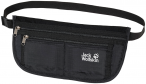 Jack Wolfskin DOCUMENT BELT DE LUXE - black - ONE SIZE