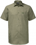 Jack Wolfskin EL DORADO SHIRT MEN - khaki checks - XXL