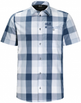 Jack Wolfskin FAIRFORD SHIRT MEN - ocean wave checks - XL