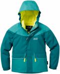 Jack Wolfskin Glacier Bay Jacket Girls - dark spruce, Größe 164