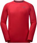 Jack Wolfskin HOLLOW RANGE LONGSLEEVE MEN - ruby red - L