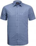 Jack Wolfskin HOT SPRINGS SHIRT M - shirt blue checks - M