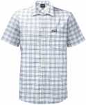 Jack Wolfskin HOT SPRINGS SHIRT - ocean wave checks - L