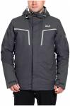 Jack Wolfskin Icy Storm Jacket Men - ebony, Größe XL