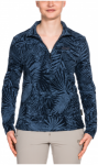 Jack Wolfskin Jungle Halfzip - midnight blue all over, Größe XXL