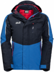 Jack Wolfskin K CROSSWIND 3IN1 JKTK CROSSWIND 3IN1 JKT - night blue - 104