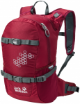 Jack Wolfskin KIDS AKKA PACK - dark red - ONE SIZE