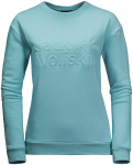 Jack Wolfskin LOGO SWEATSHIRT W - aqua - XL