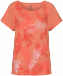 Jack Wolfskin MORO PALM T WOMEN - hot coral - M
