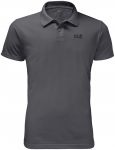 Jack Wolfskin PIQUE POLO MEN - dark iron - L