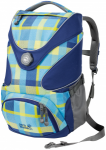 Jack Wolfskin RAMSON TOP 20 PACK - blue woven check - ONE SIZE
