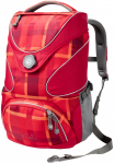 Jack Wolfskin RAMSON TOP 20 PACK - indian red woven check - ONE SIZE