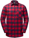 Jack Wolfskin RED RIVER SHIRTRED RIVER SHIRT - indian red checks - XL