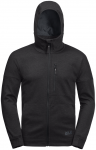 Jack Wolfskin RIVERLAND HOODED JACKET M - black - L