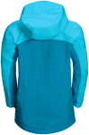 Jack Wolfskin SAANA JACKET GIRLS - blue reef - 128