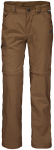 Jack Wolfskin SAFARI ZIP OFF PANTS K - bark brown - 116