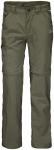 Jack Wolfskin SAFARI ZIP OFF PANTS K - woodland green - 104