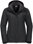 Jack Wolfskin SEVEN LAKES 3IN1 WSEVEN LAKES 3IN1 W - black - L