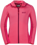 Jack Wolfskin SHORELINE JACKET - hot pink - 152