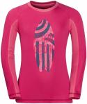 Jack Wolfskin SHORELINE LONGLSEEVE KIDS - tropic pink - 104