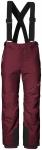 Jack Wolfskin SNOW RIDE PANTS KIDS - garnet red - 104