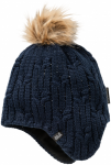 Jack Wolfskin STORMLOCK BRAID CAP WOMENSTORMLOCK BRAID CAP WOMEN - midnight blue