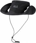Jack Wolfskin TEXAPORE 2IN1 HAT - black - M