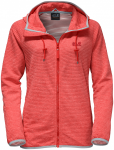 Jack Wolfskin TONGARI HOODED JACKET WOMEN - fiery red - XL