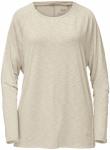 Jack Wolfskin TRAVEL LONGSLEEVE T WOMEN - white sand - XL