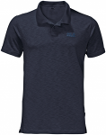 Jack Wolfskin TRAVEL POLO MEN - night blue - M