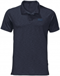 Jack Wolfskin TRAVEL POLO MEN - night blue - L
