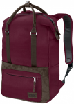 Jack Wolfskin TUSCON PACK - garnet red - ONE SIZE