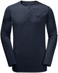 Jack Wolfskin WINTER TRAVEL HENLEY MEN - night blue - L