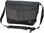 Jack Wolfskin WOOL TECH MESSENGER - phantom - ONE SIZE