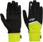 Outdoor Research - OR Speed Sensor Gloves - black/lemongrass - L